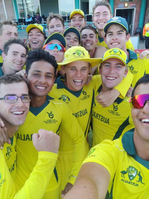 Australia claim thrilling win over England to reach Super League at ICC Under-19 World Cup