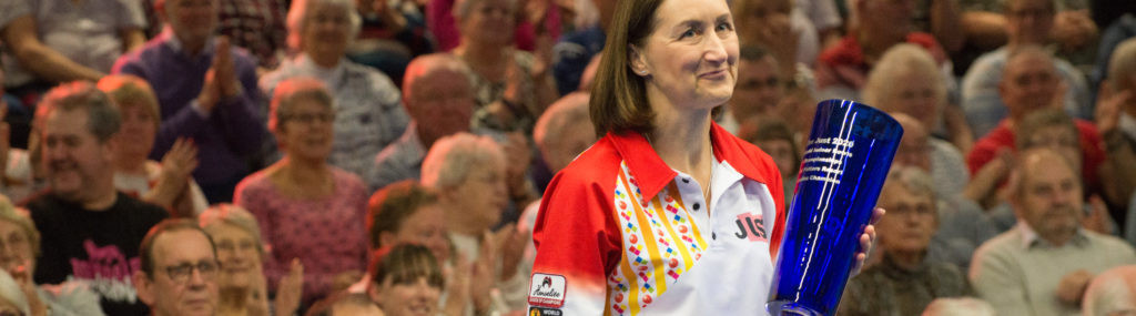 Forrest seals defence of women's singles title at World Indoor Bowls Championships