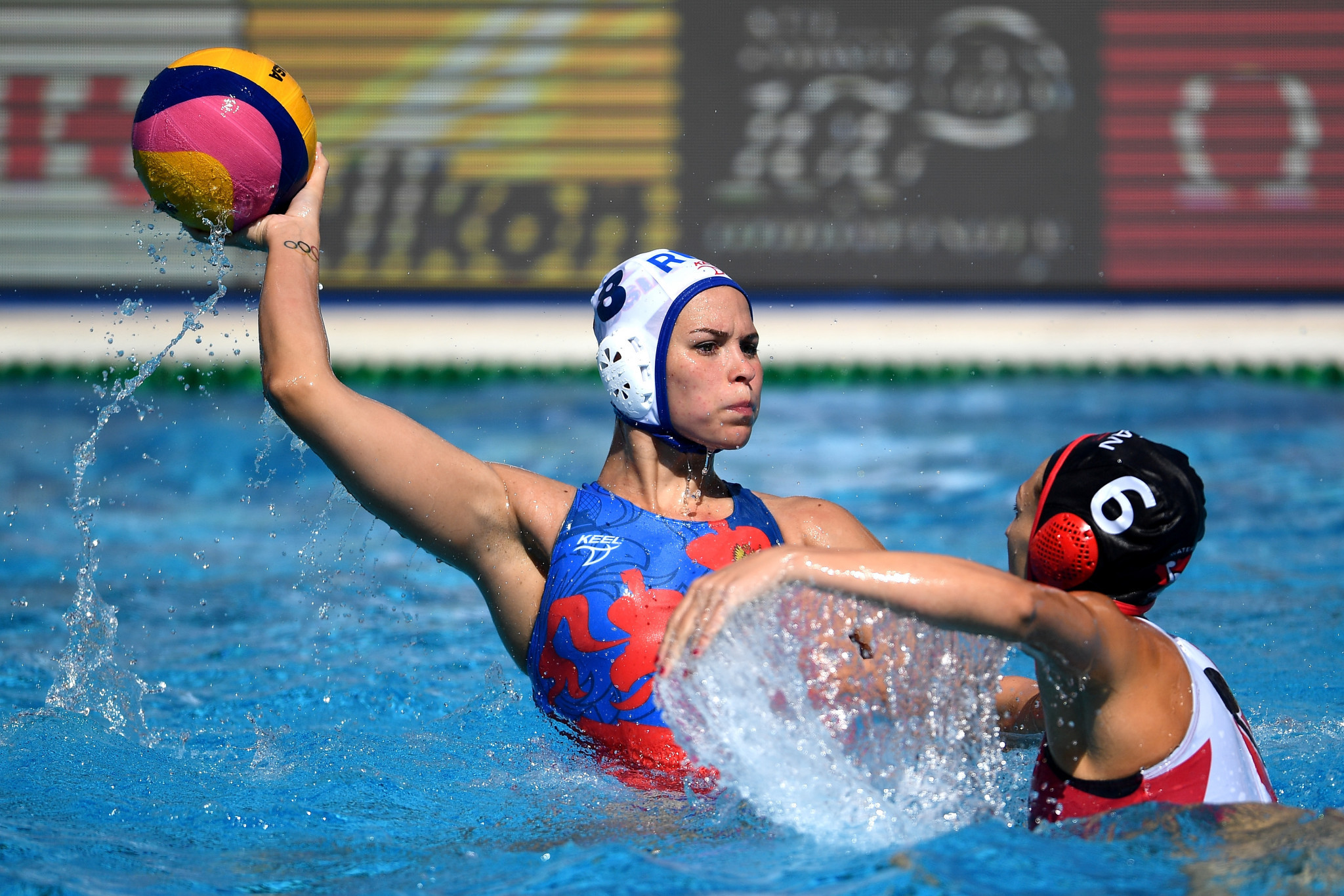 Russia and Spain through to Women's European Water Polo Championship final