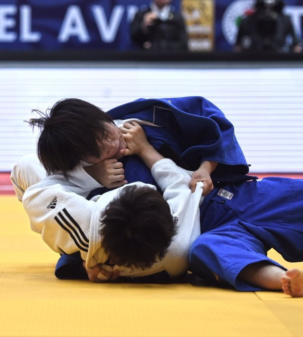 Japan and South Korea claim two gold medals each on day one of IJF Tel Aviv Grand Prix