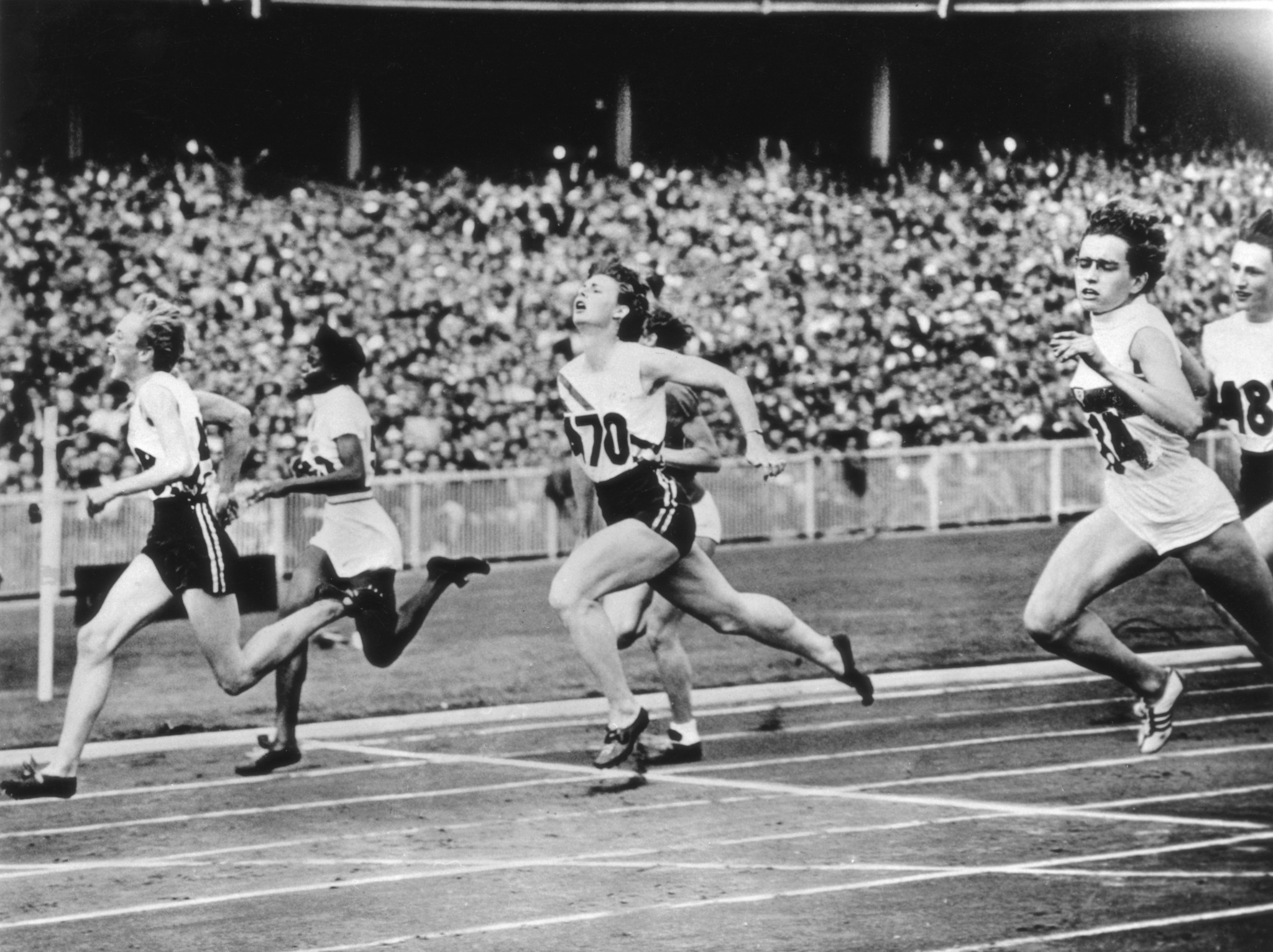 The medal competition became more fierce at the 1956 Olympics in Melbourne ©Getty Images