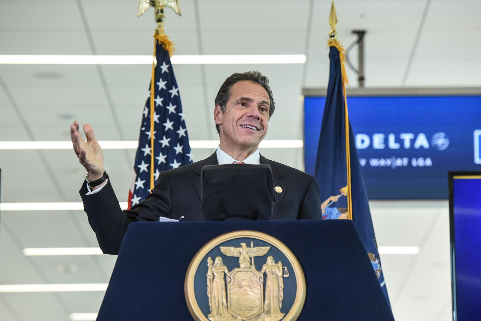New York Governor Andrew Cuomo has proposed $147 million in new capital funding for the State's ORDA to keep upgrading winter sports venues ©Getty Images