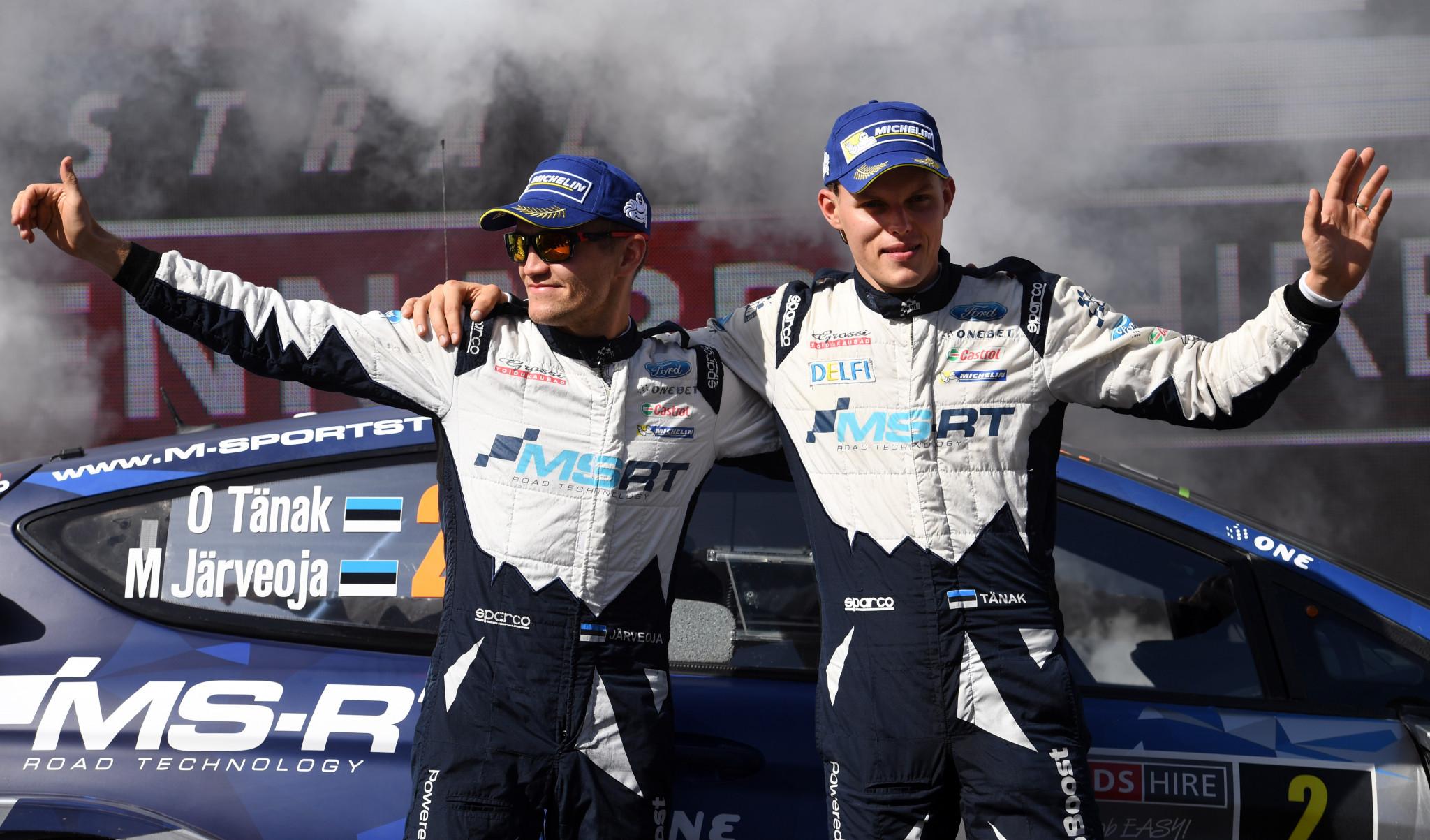 Ott Tänak and Martin Järveoja are a world class driving force for Estonia ©Getty Images