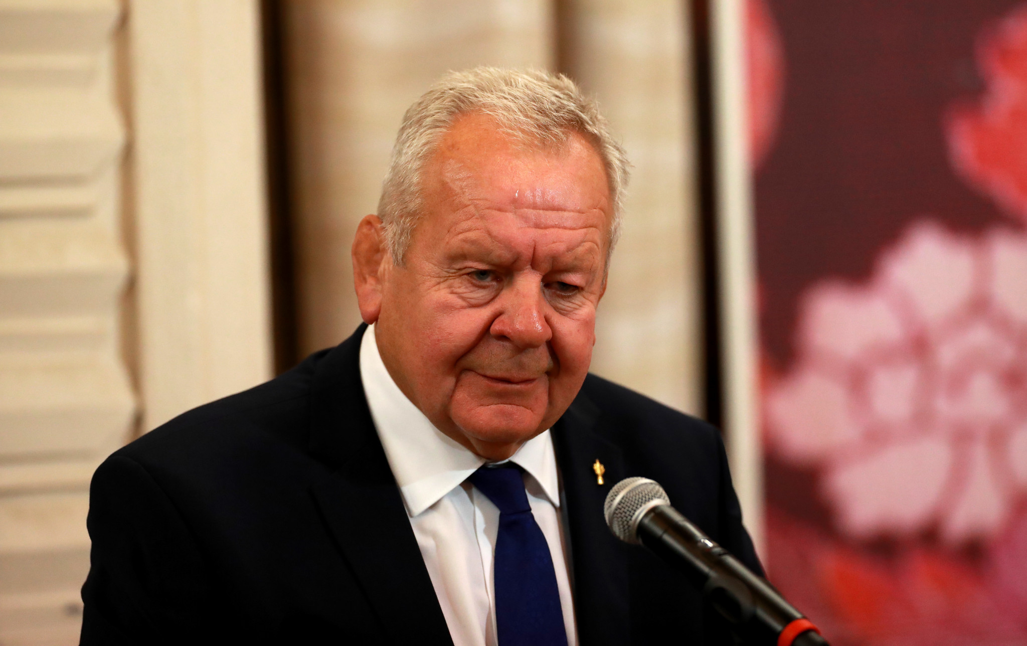 Sir Bill Beaumont today officially confirmed he will seek a second four-year term as chairman of World Rugby ©Getty Images