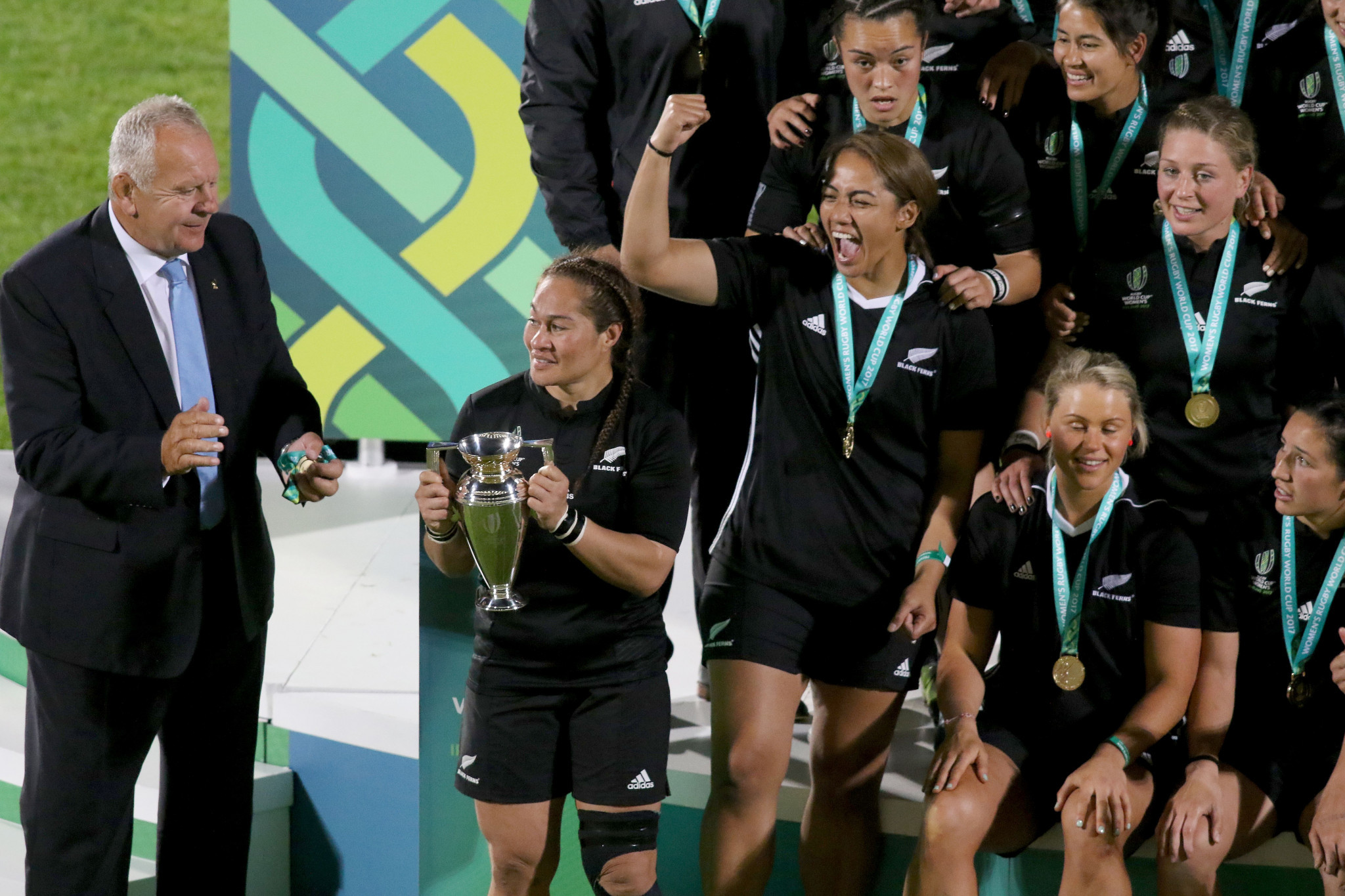 A successful Women's Rugby World Cup in Ireland in 2017 was part of the growing influence of females on the sport during his first four-year term as World Rugby chairman, Sir Bill Beaumont claimed ©Getty Images