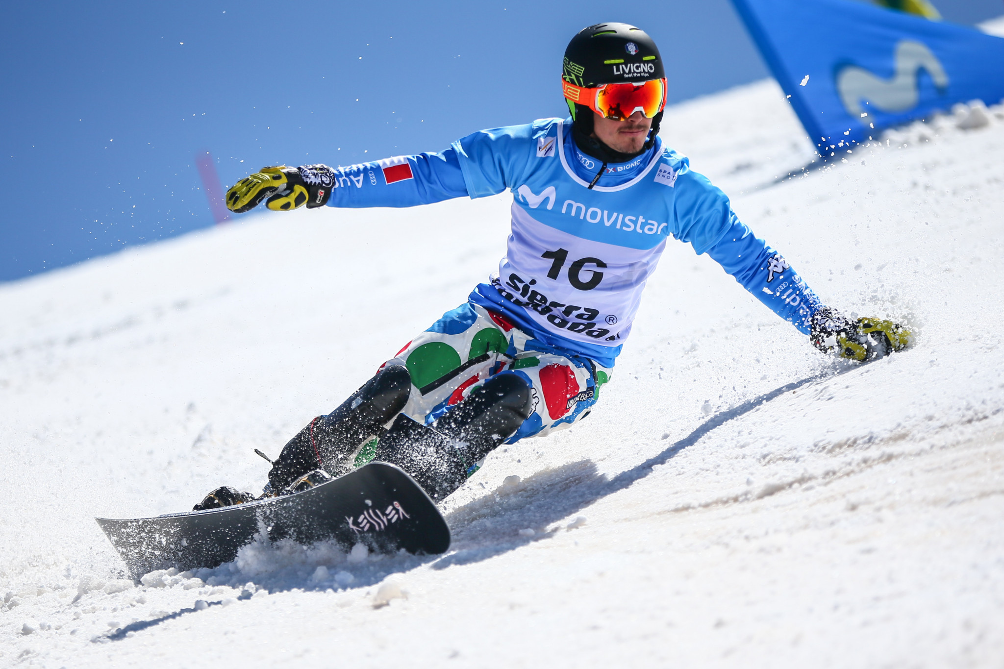 Parallel slalom action continues at FIS Alpine Snowboard World Cup in Piancavallo
