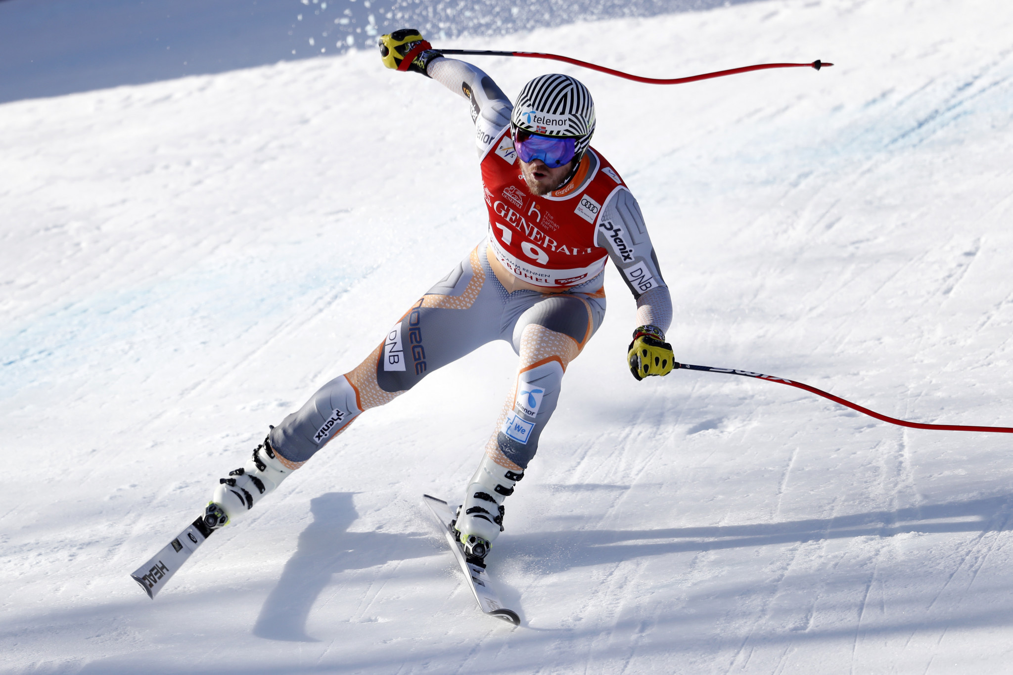 Norway's Jansrud back on top in men's super-G, as FIS World Cup starts in Kitzbühel