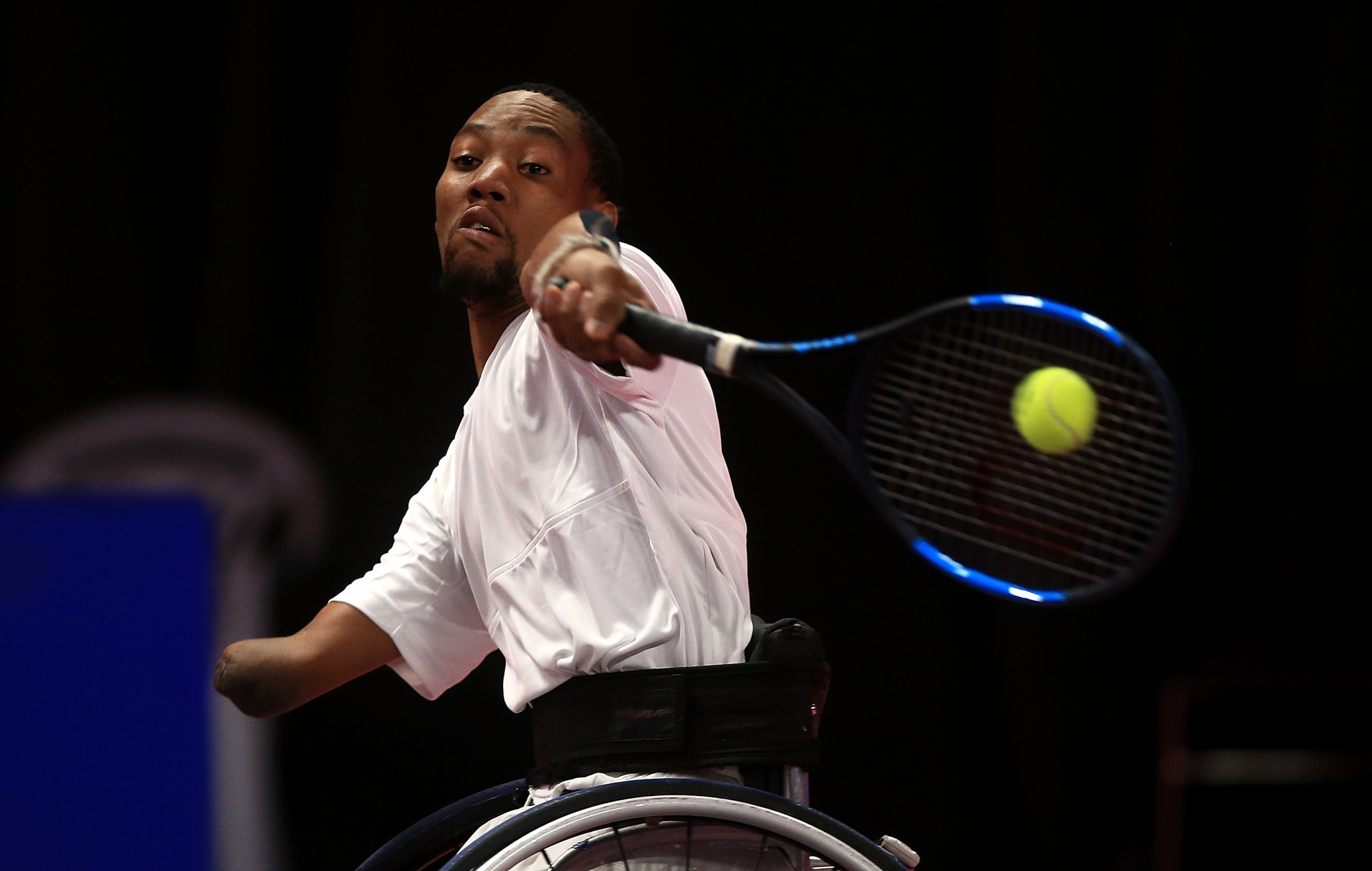 Lucas Sithole of South Africa has earned two Grand Slam victories in his career ©Getty Images