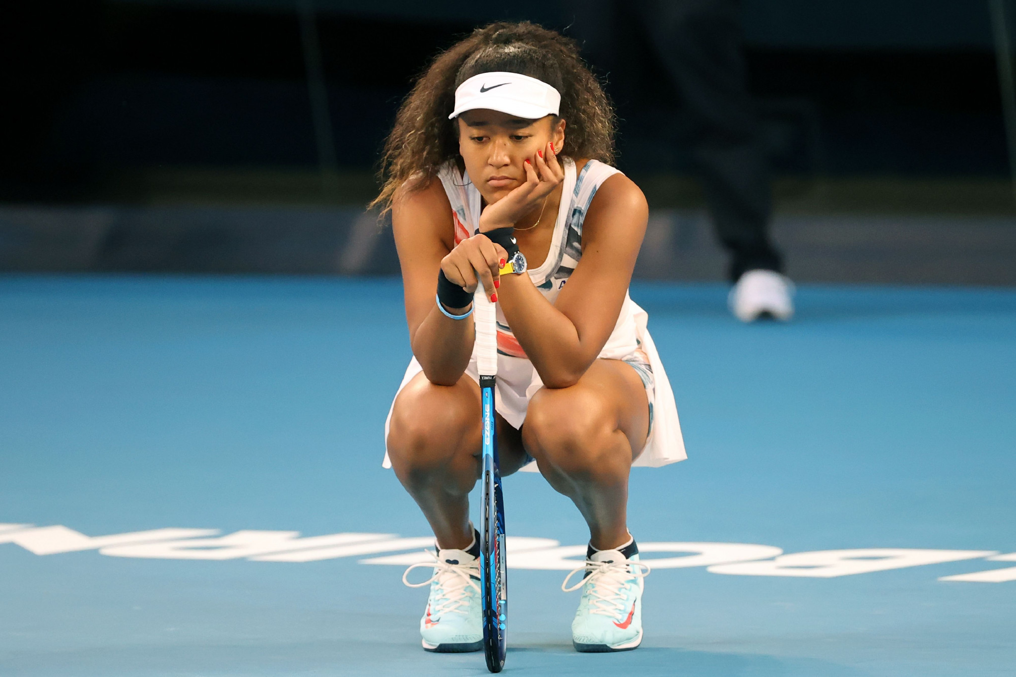 Eventful day at Australian Open sees defending champion Osaka crash out