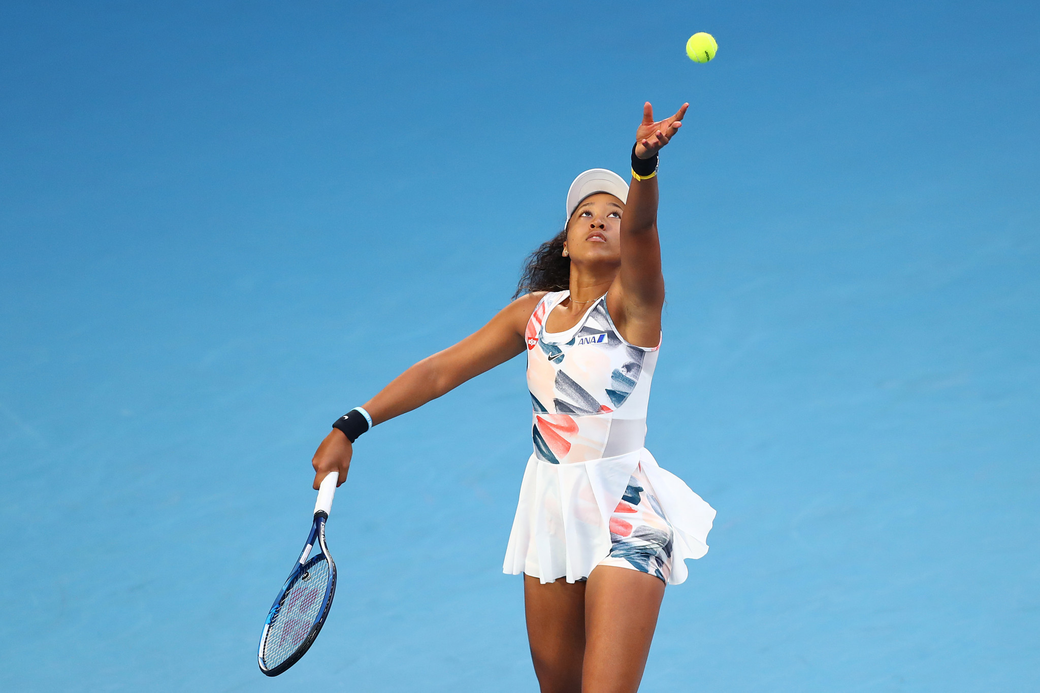 Osaka came up against Coco Gauff of the United States  ©Getty Images