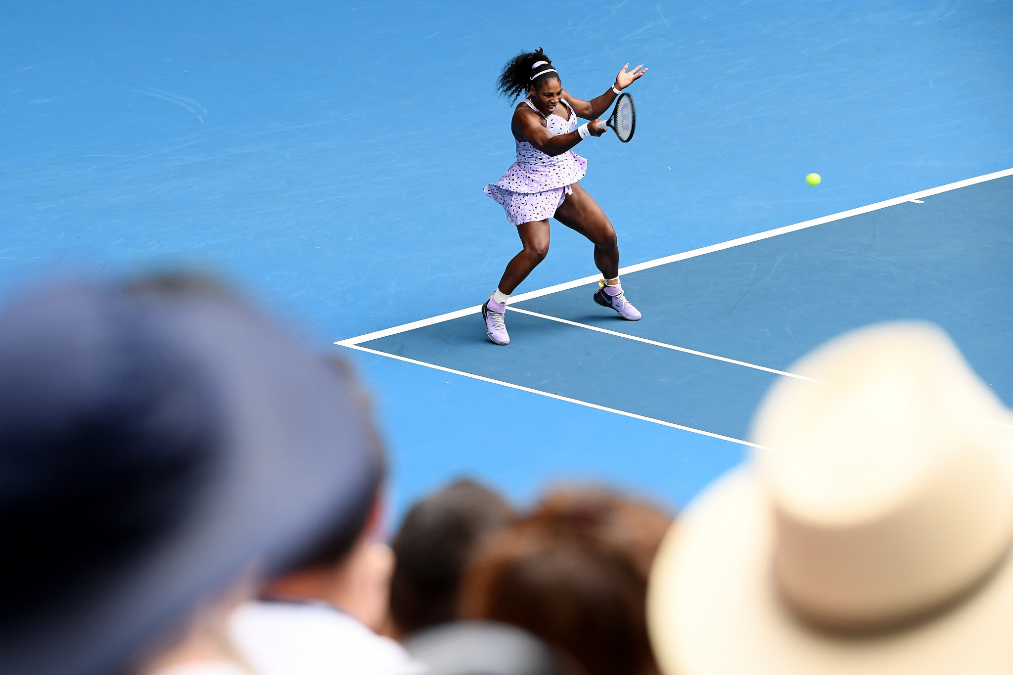 Seven-time Australian Open Serena Williams was also in action ©Getty Images