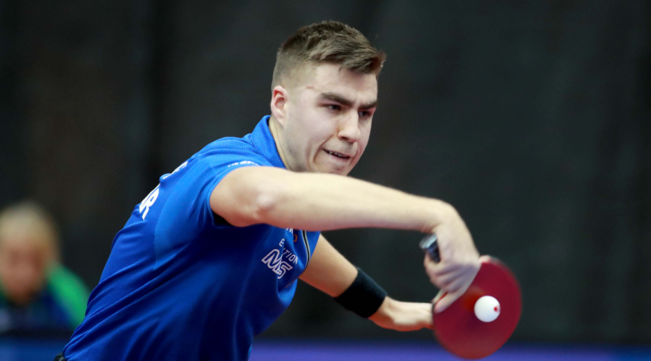 Darko Jorgic led Slovenia to an epic win today ©Remy Gros/ITTF