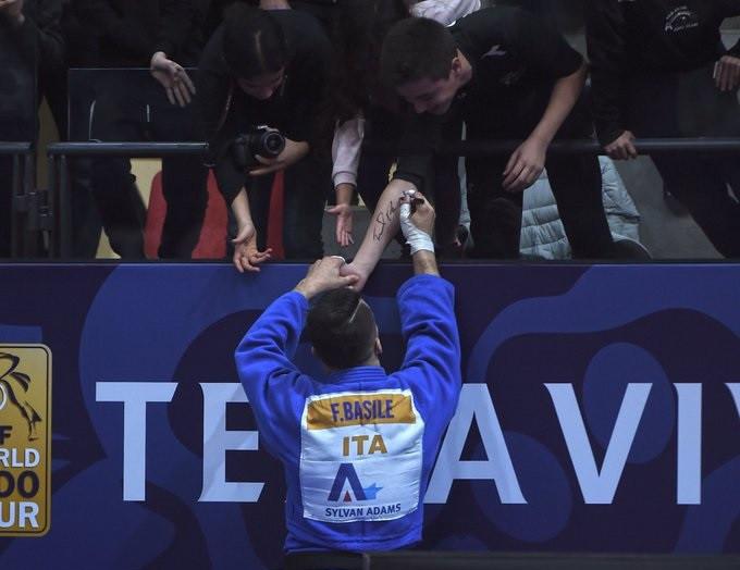 Olympic champion Basile triumps at IJF Tel Aviv Grand Prix