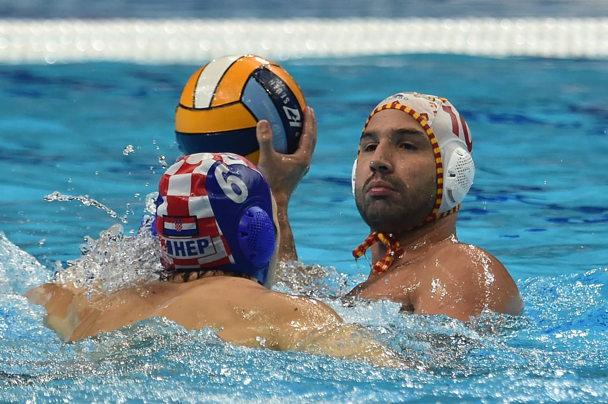 Spain edged past Croatia to reach the final of the Men's European Water Polo Championships ©Getty Images