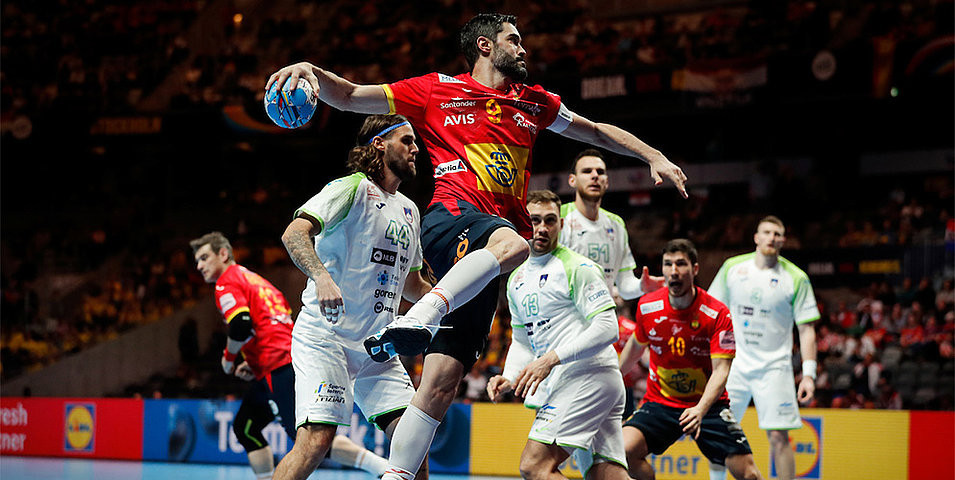 Spain and Croatia through to European Men's Handball Championship final
