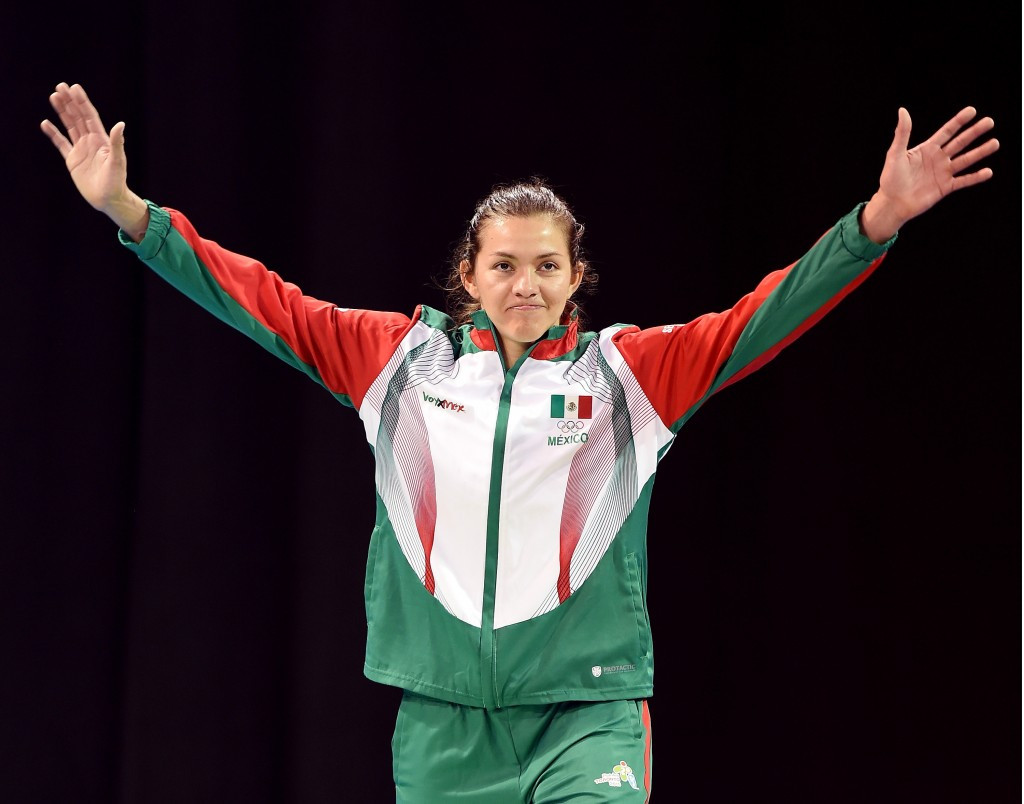 Ensuring Mexican athletes like Olympic gold medallist Maria Espinoza compete at Rio 2016 has been hailed as a priority by the IOC and the Government ©Getty Images