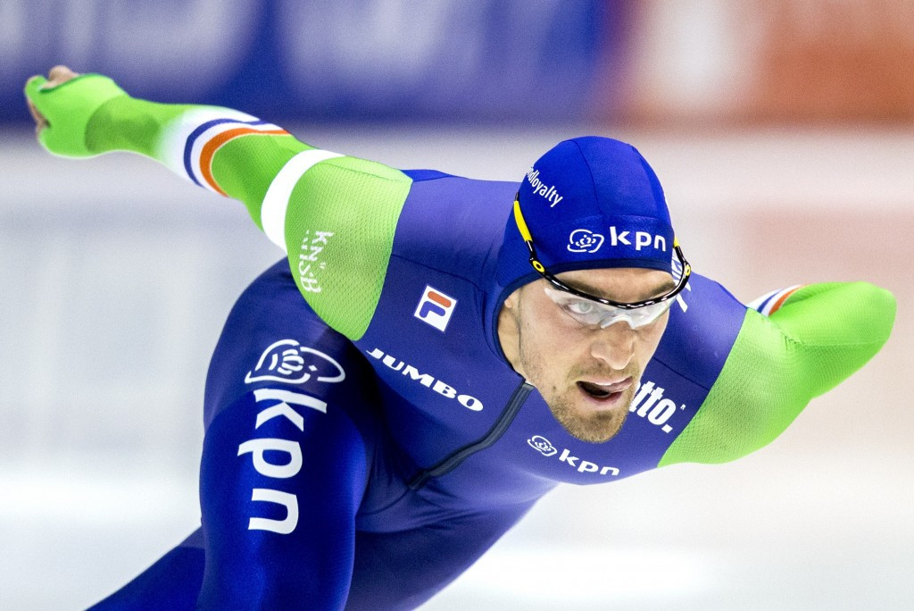 Nuis and Bowe rewrite 1,000m record books at ISU Speed Skating World Cup in Inzell