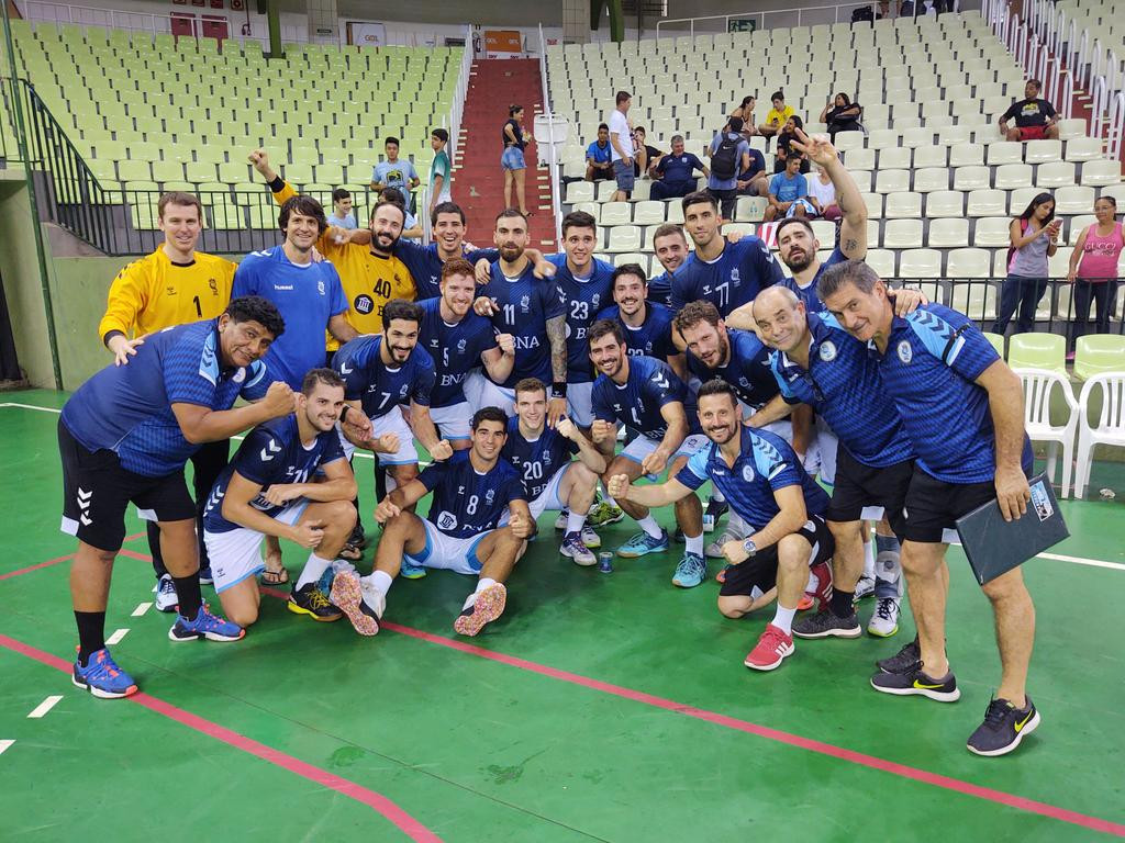 Argentina defeated Chile at the South and Central American Men's Handball Championship ©Twitter