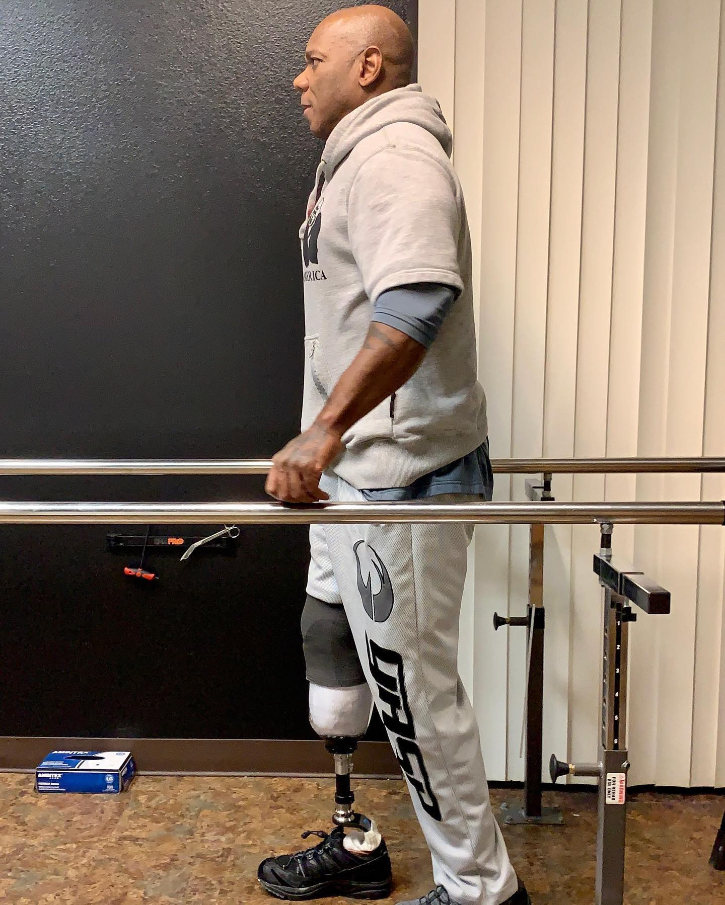 IFBB legend Wheeler begins recovery after losing leg