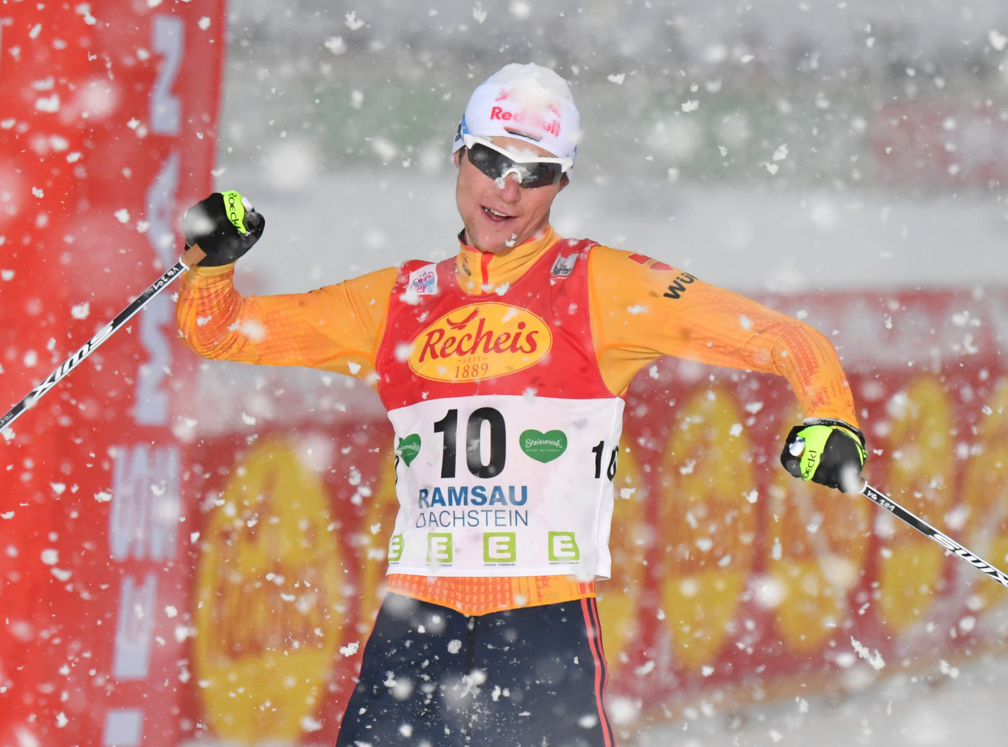 Vinzenz Geiger has extensive local knowledge of the Oberstdorf set-up ©Getty Images
