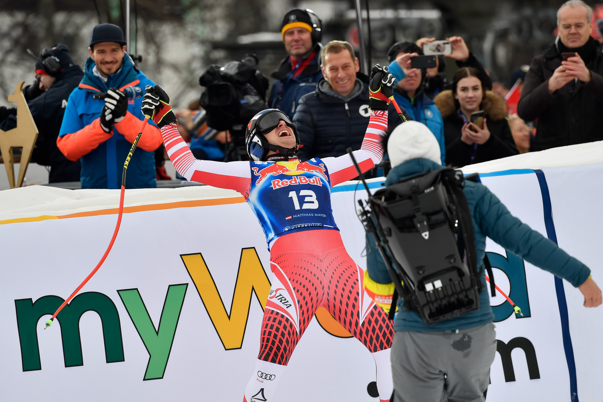 Home skier Mayer earns downhill win at FIS World Cup in Kitzbühel