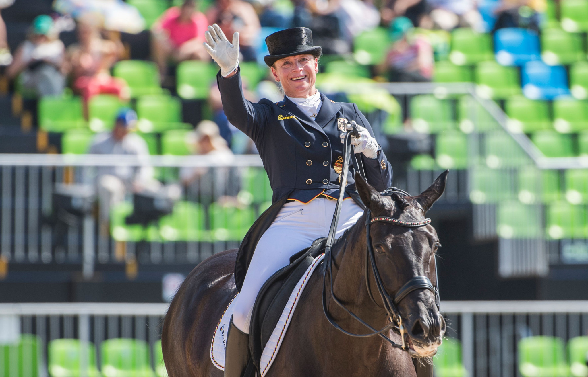 Werth wins in Amsterdam as she chases fourth consecutive FEI Dressage World Cup crown