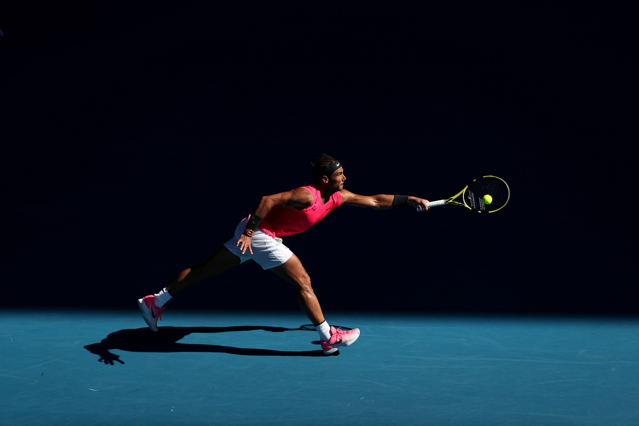 He will come up against foe Rafael Nadal next, with the Spaniard seeking his second Australian Open title ©Getty Images