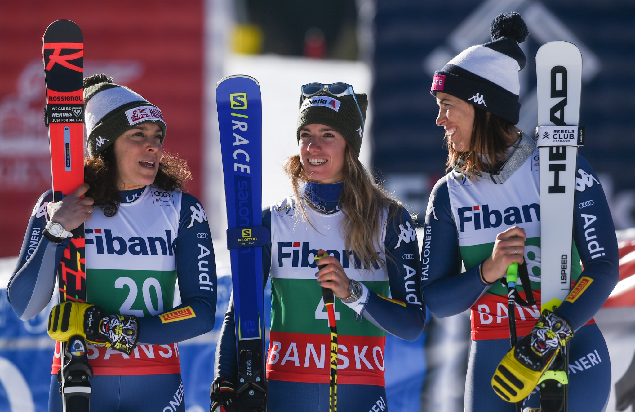 Curtoni triumphs in FIS World Cup as Italy lock out women's downhill ski podium