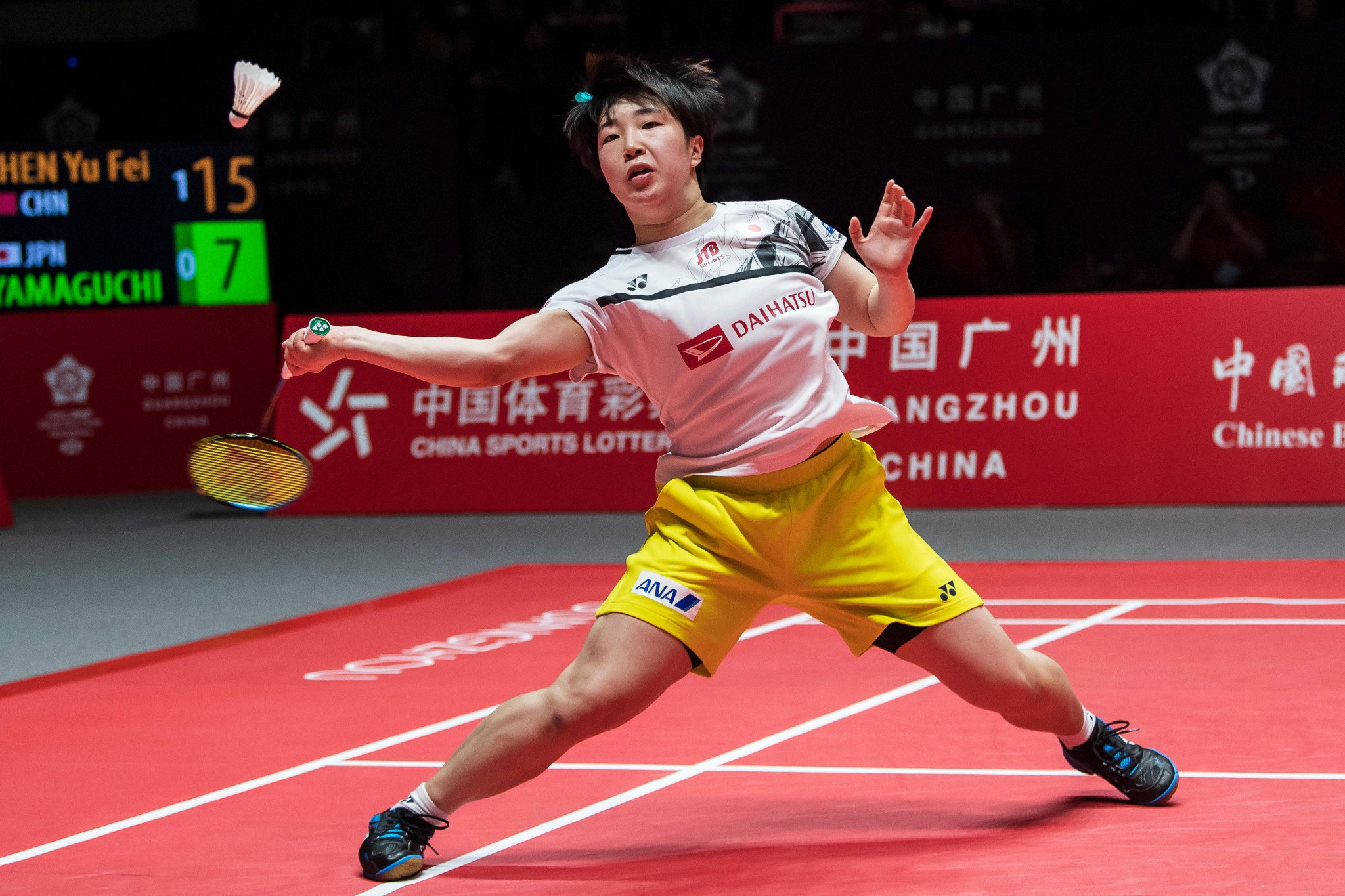 Yamaguchi comes through in thrilling semi-final at BWF Thailand Masters