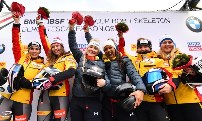 Gold number 25 for Humphries at IBSF World Cup in Königssee