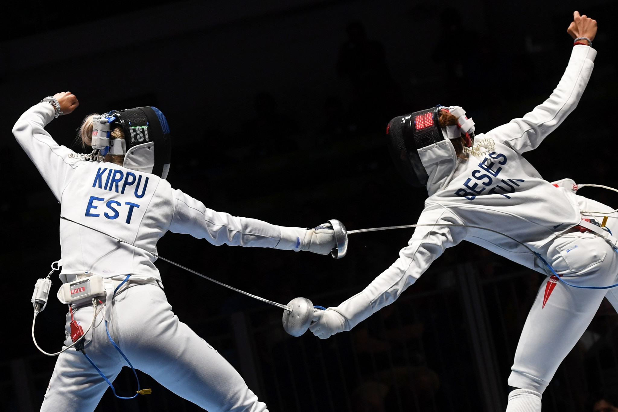 Kirpu sets up clash with top seed Lin at FIE Épée Grand Prix