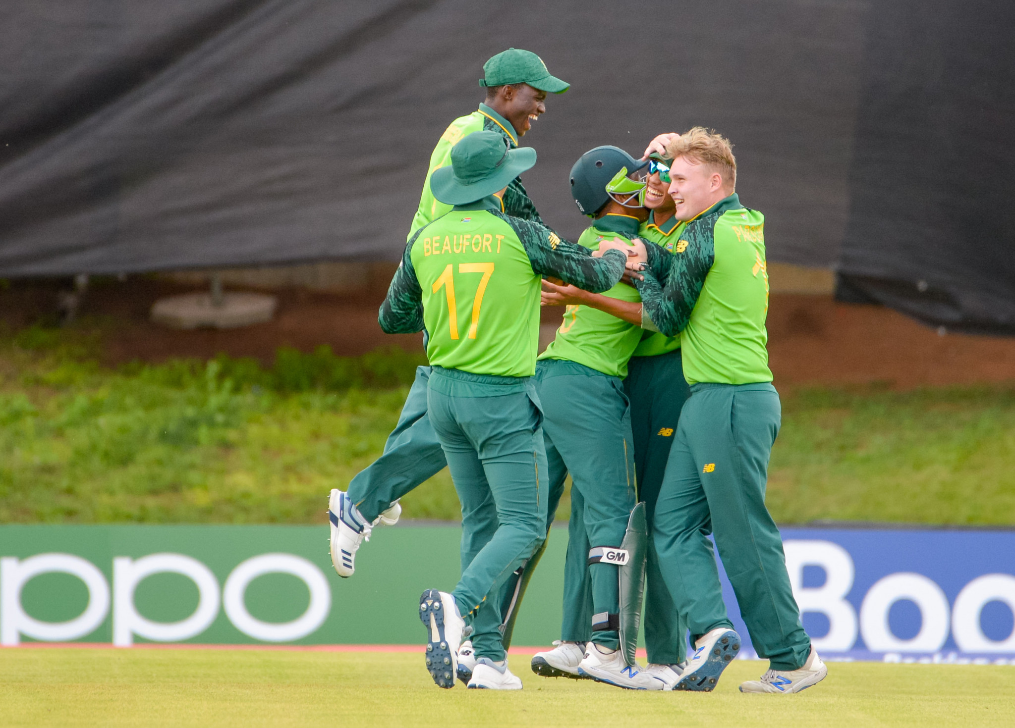 Hosts South Africa through to U-19 Cricket World Cup quarter-finals with UAE win