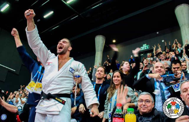 Home judoka provide double gold finale to IJF Tel Aviv Grand Prix