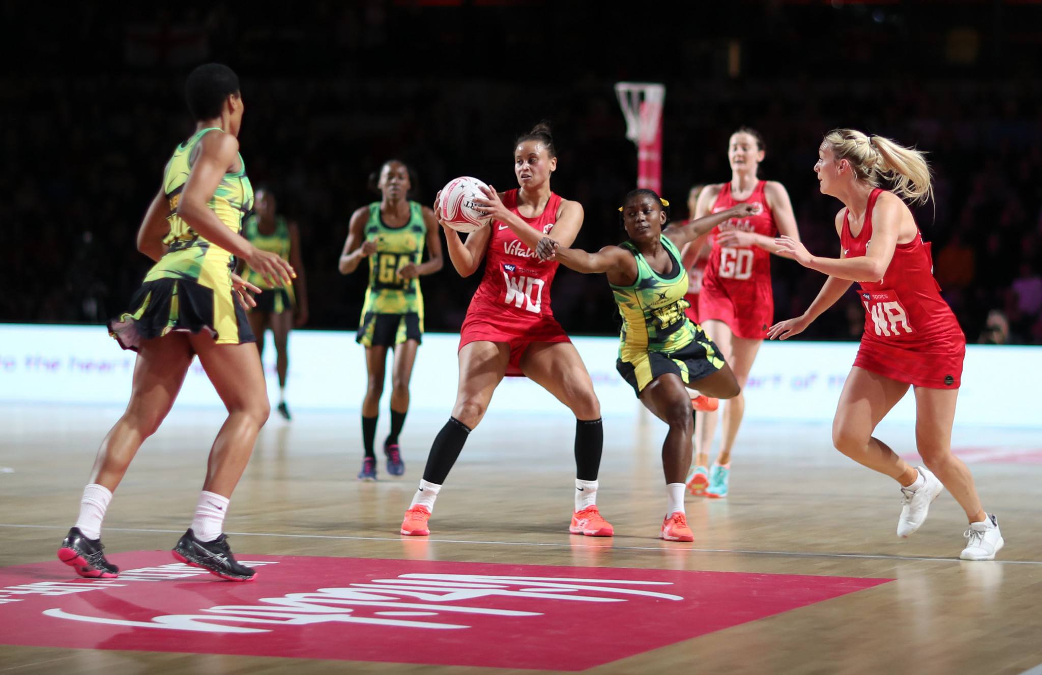Jamaica defeated England to reach the Netball Nations Cup final ©Getty Images