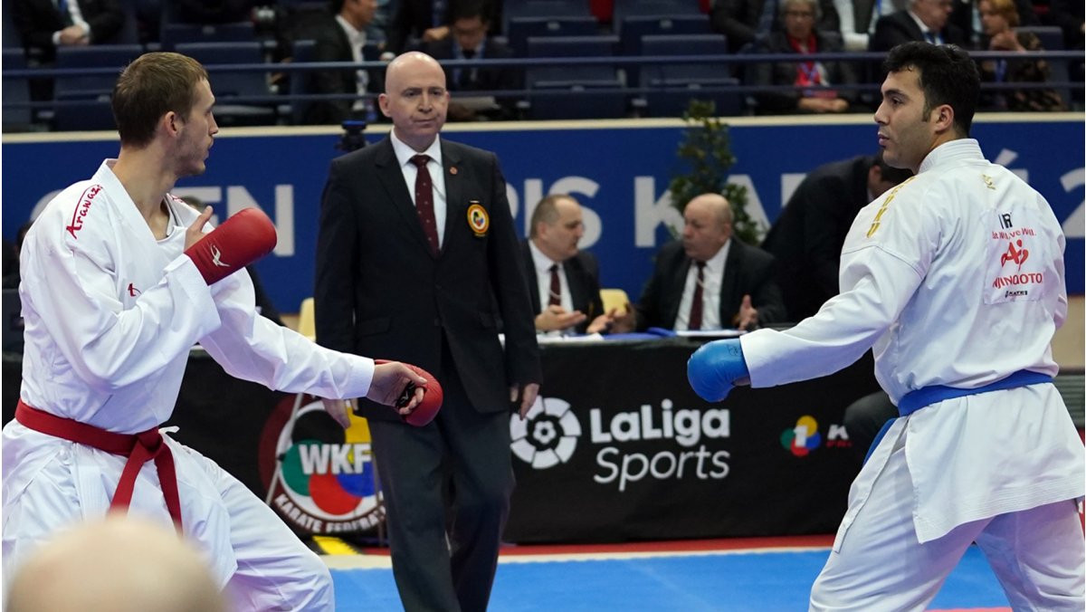 Day two of the WKF Karate 1-Premier League event in Paris provided several shock results ©WKF