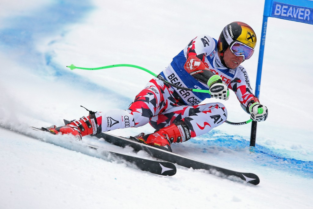Hirscher secures maiden World Cup Super G win as Vonn moves one short of all-time downhill record
