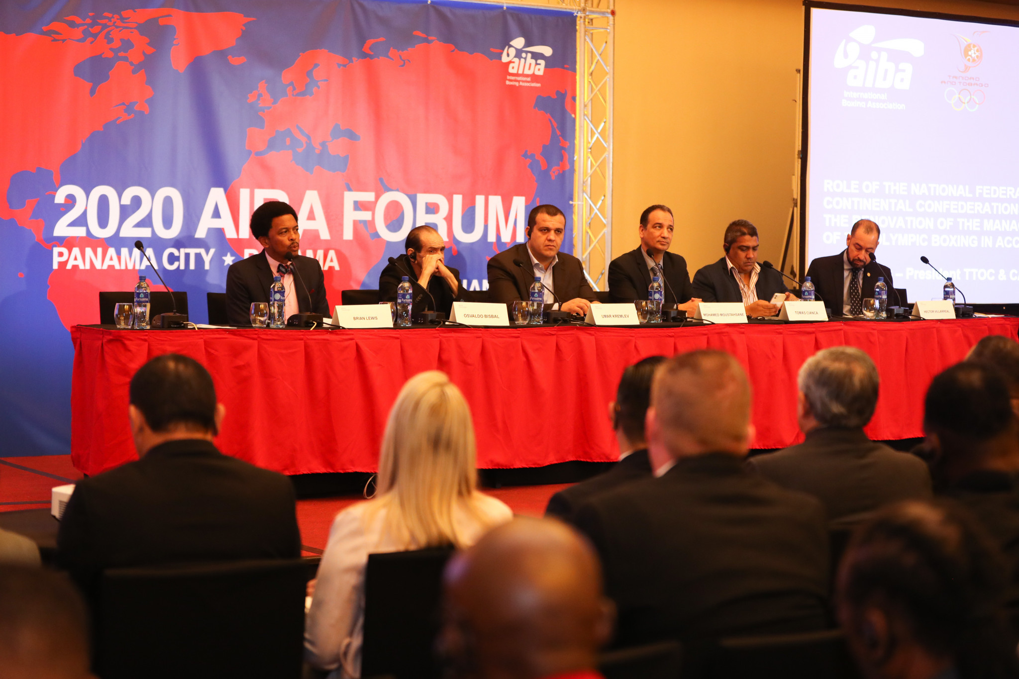 AIBA Interim President Mohamed Moustahsane claimed the inaugural Continental Forum in Panama was a