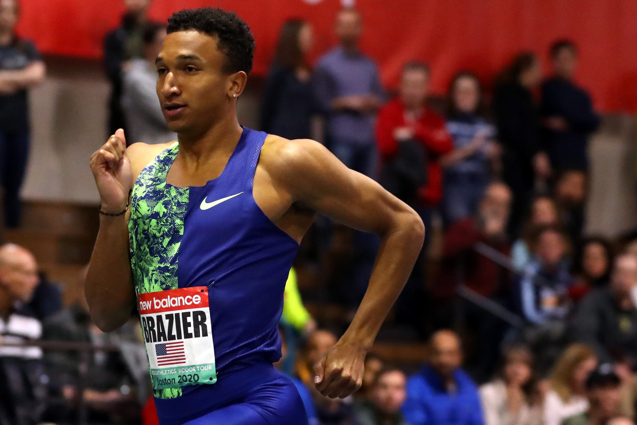 US world champions Brazier and Ali open season with wins at World Athletics Indoor Tour event in Boston