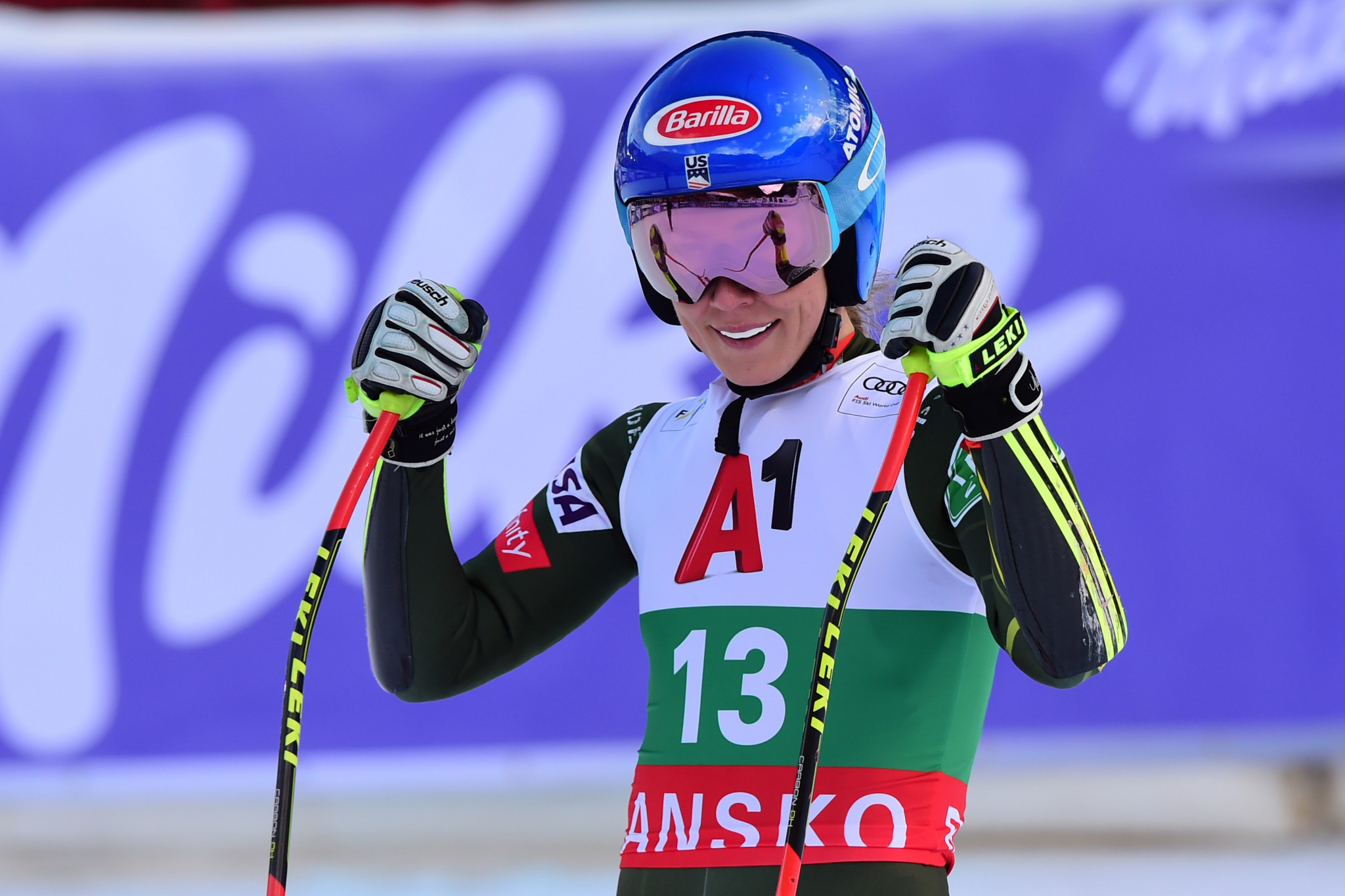 Shiffrin makes it two wins in World Cup weekend with super-G victory