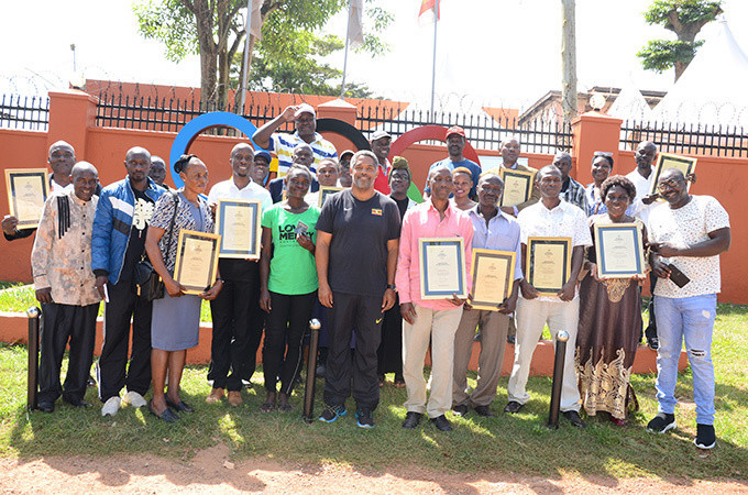 Ugandan Olympians gather for reunion