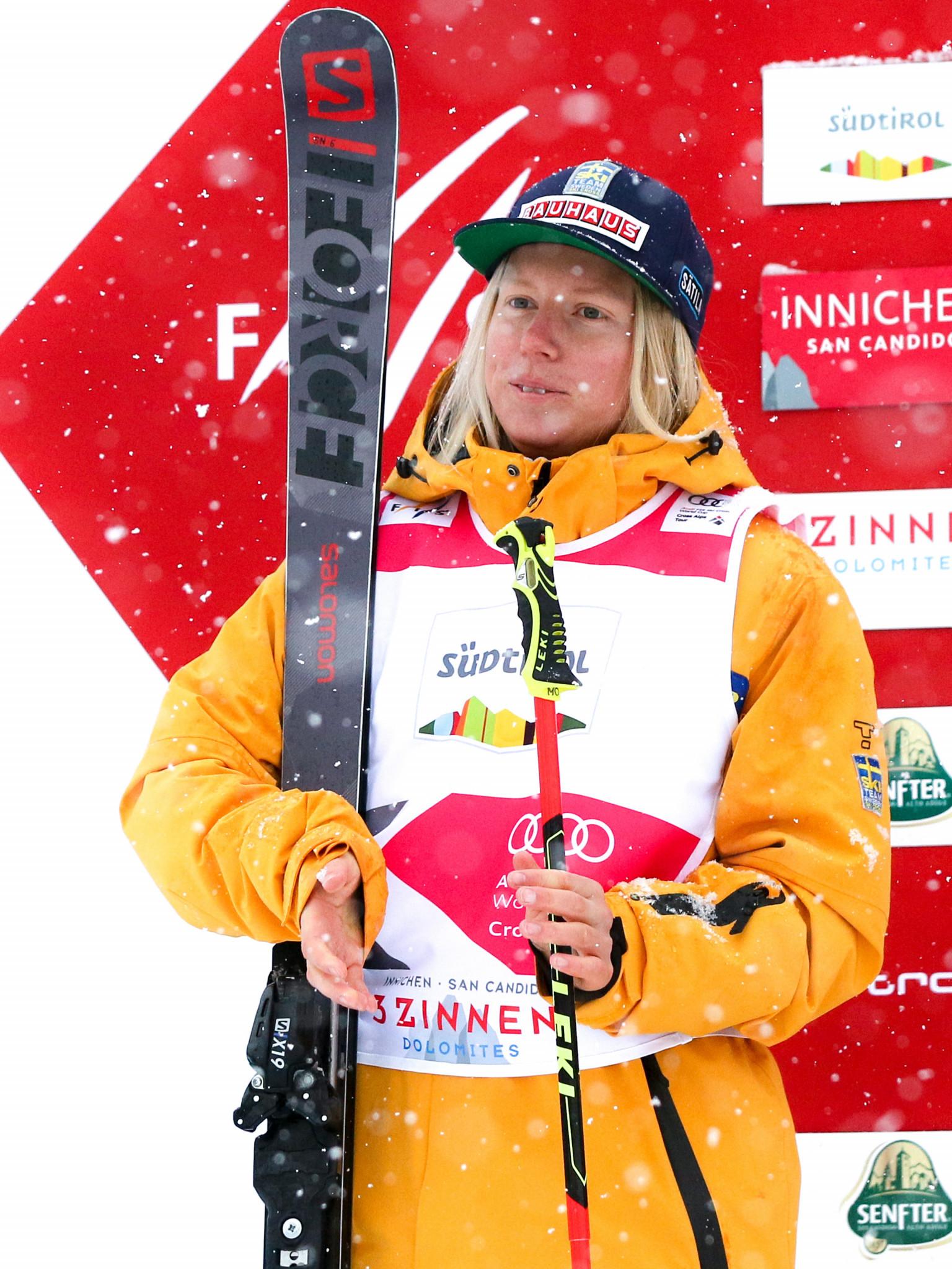 Sandra Näslund of Sweden went one better than yesterday ©Getty Images