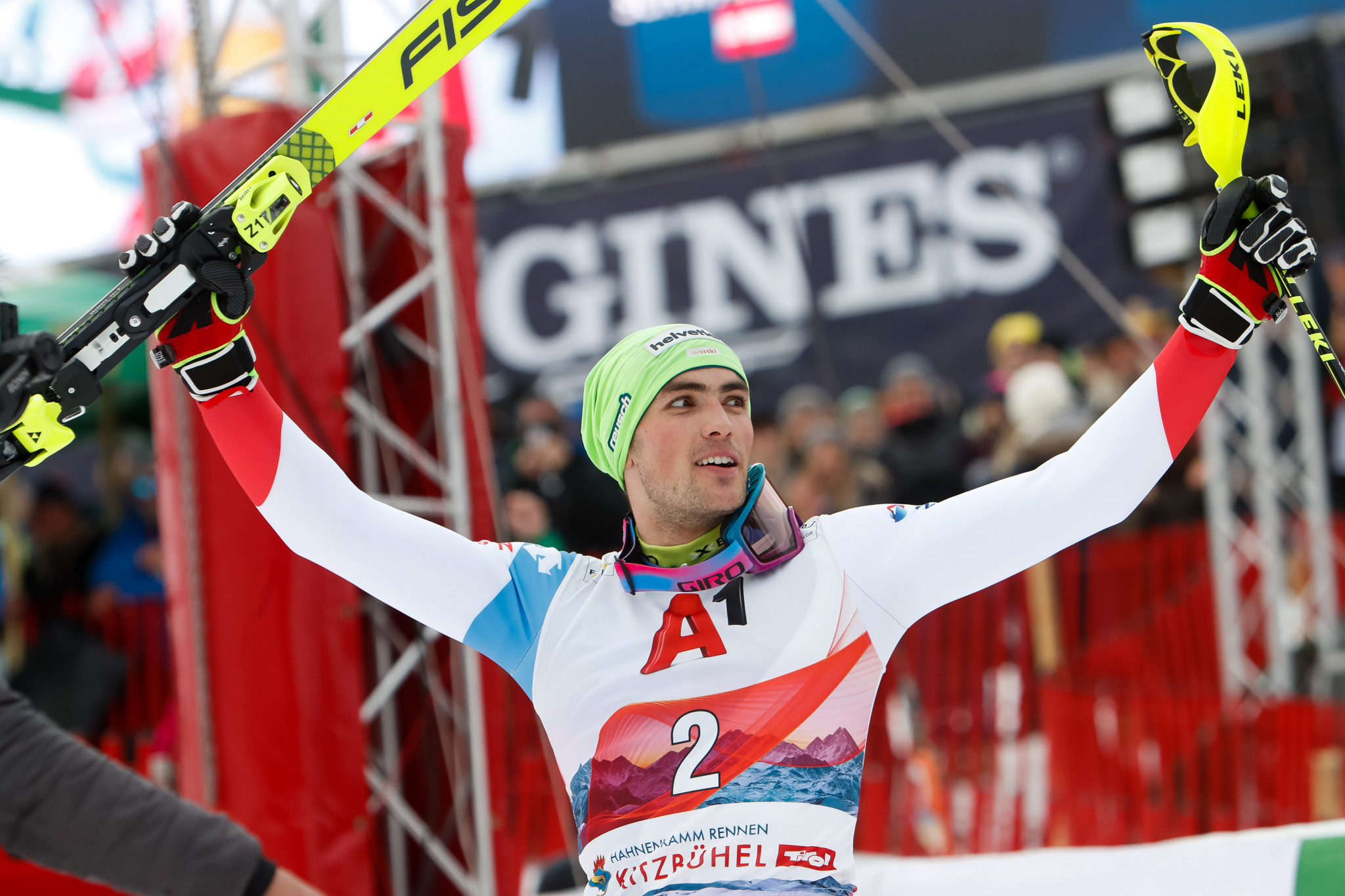 Yule wins men's slalom as FIS Alpine Ski World Cup in Kitzbühel concludes
