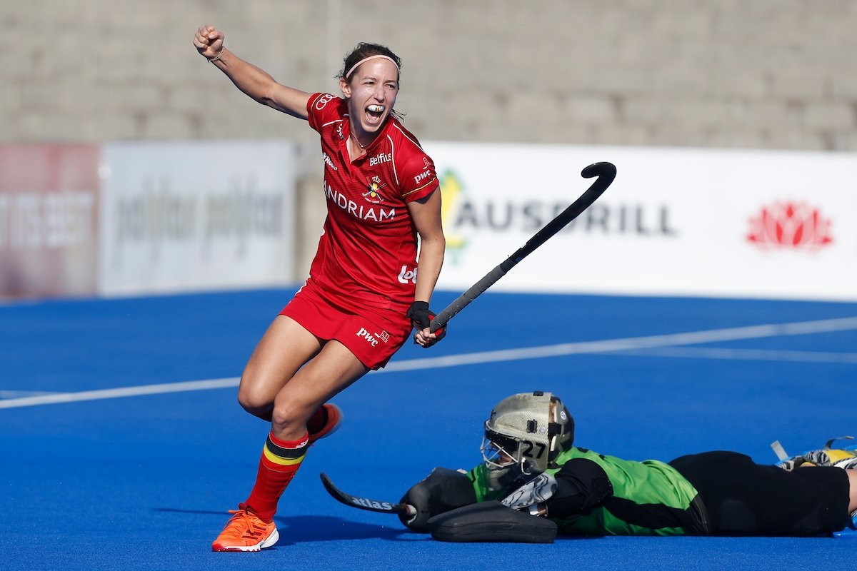 Double success for Belgium in FIH Hockey Pro League against Australia