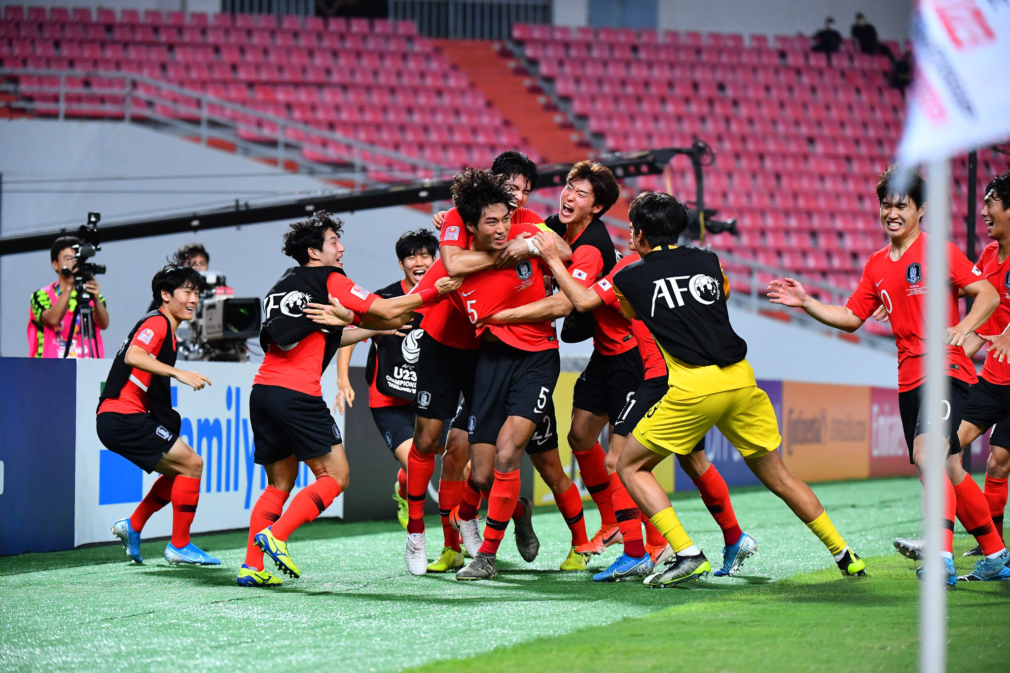 South Korea strike in extra time to win AFC Under-23 Championship