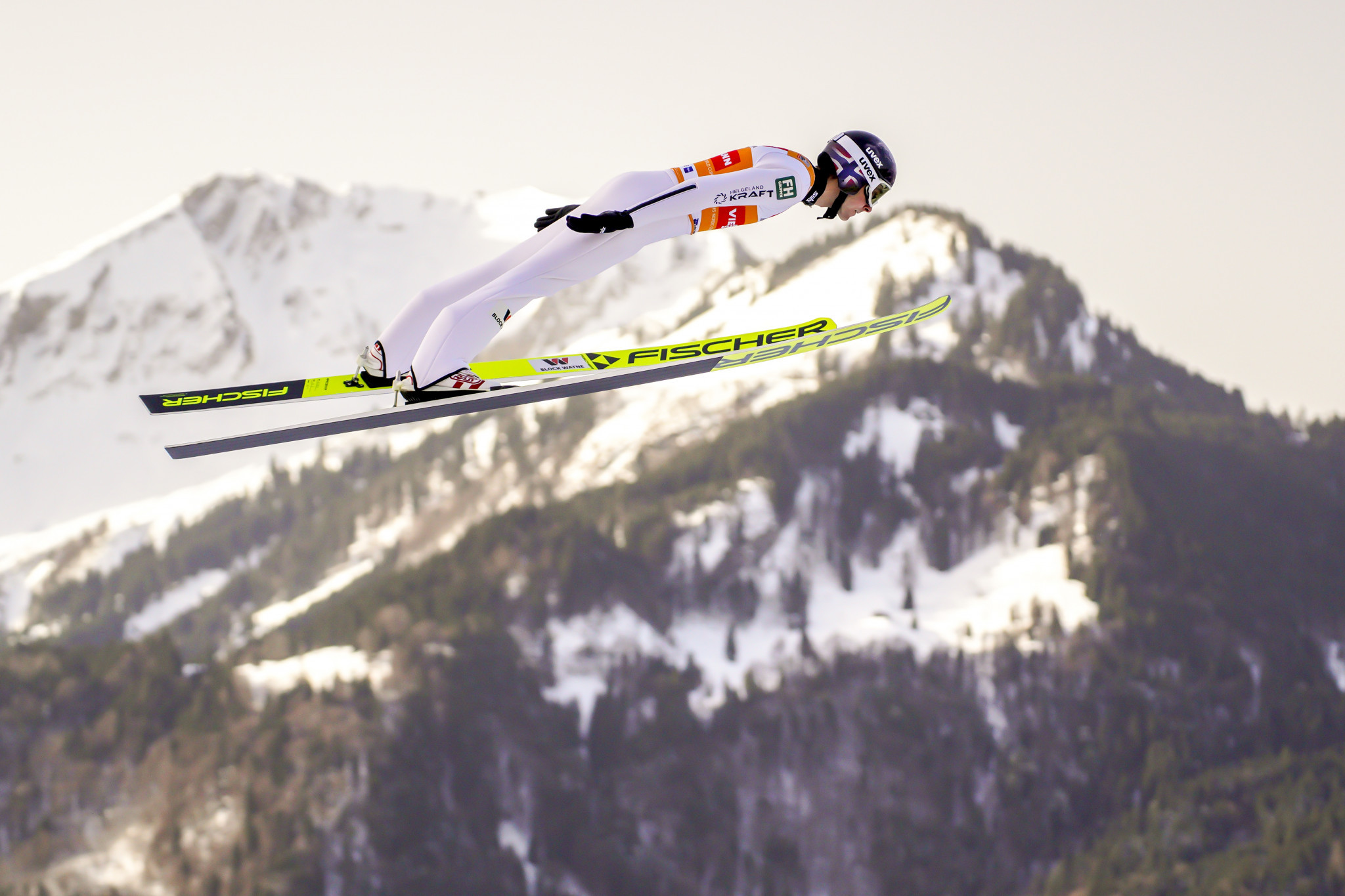 Riiber wins again in Oberstdorf to maintain lead in FIS Nordic Combined World Cup