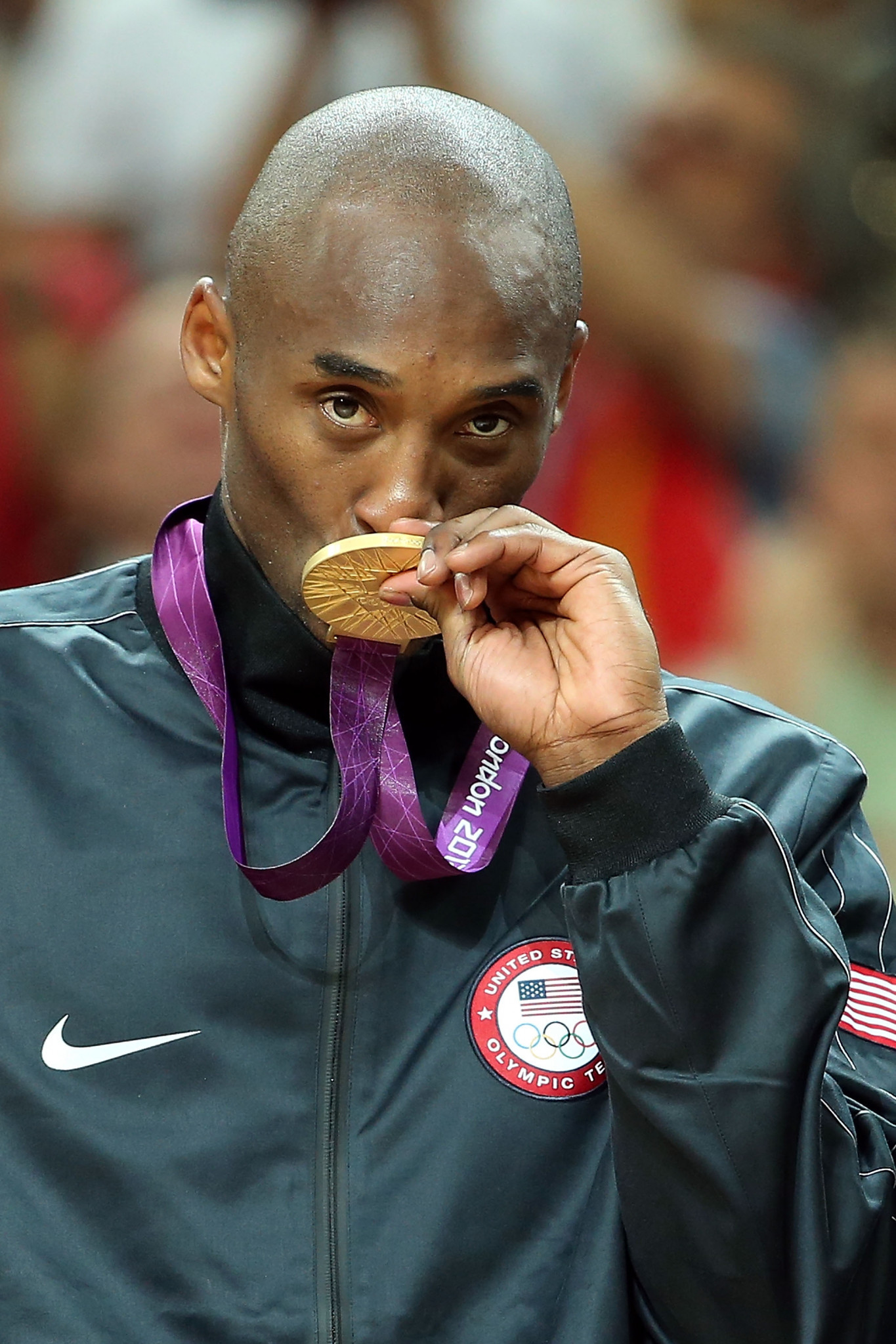Kobe Bryant won two Olympic gold medals during his career, including at London 2012 ©Getty Images