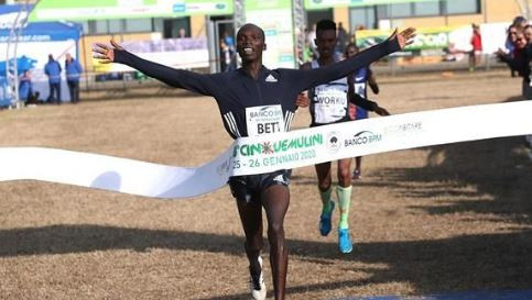 Worku's winning run in World Athletics Cross Country Permit races is ended at Cinque Mulini