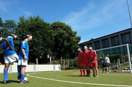 IBSA staged its inaugural blind football European youth camp in Hamburg earlier this year