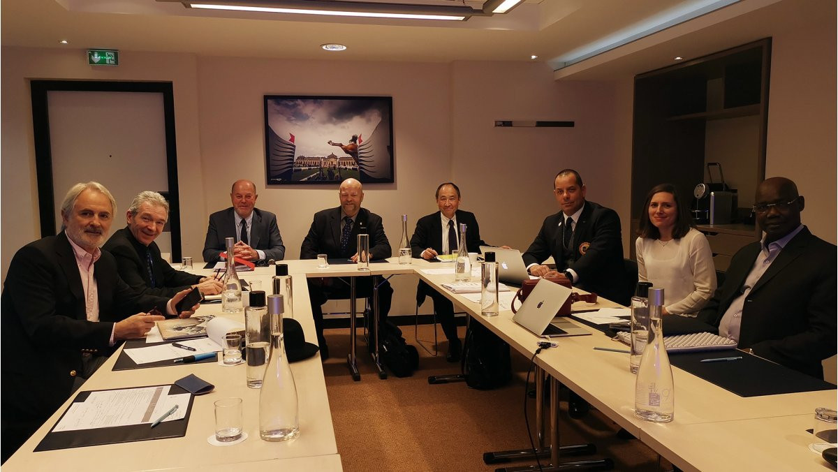 World Karate Federation Commissions have held meetings in Paris to discuss the strategy for the future of the sport ©WKF
