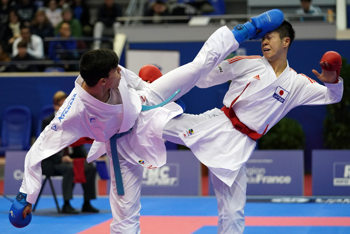 Paris played host to the season-opening Karate 1-Premier League event at the weekend ©WKF